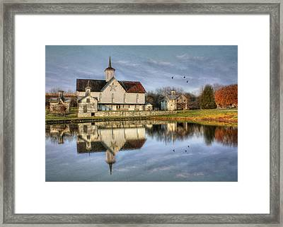 Afternoon At The Star Barn Framed Print by Lori Deiter