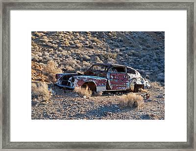Aguereberry Camp Death Valley National Park Framed Print