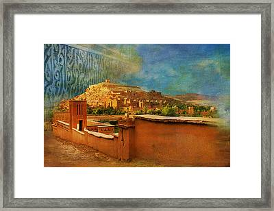 Ait Benhaddou  Framed Print by Catf