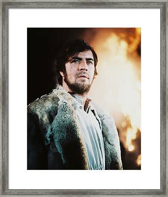 Alan Bates Framed Print by Silver Screen