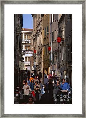 Alghero Framed Print by Chris Selby