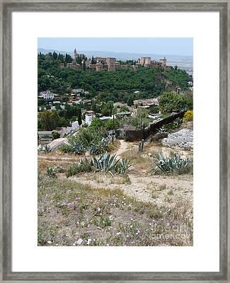 Alhambra Granada Framed Print by Phil Banks