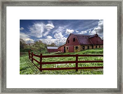 All American Framed Print by Debra and Dave Vanderlaan