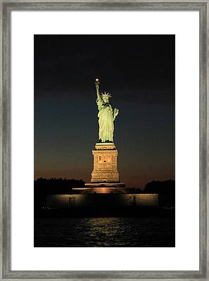 All Lit Up Framed Print