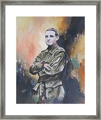 All Our Grandfathers Framed Print by Leonie Bell