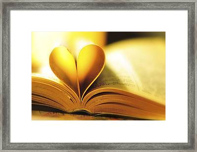 All You Need Is Love Framed Print by Terry DeLuco