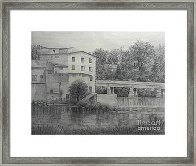 Almonte Heritage Buildings Framed Print