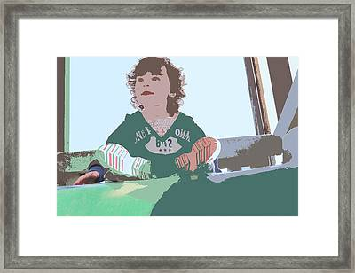 Framed Print featuring the photograph Altogether by Nick David