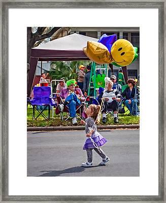 Always Dream...never Grow Up Framed Print by Steve Harrington