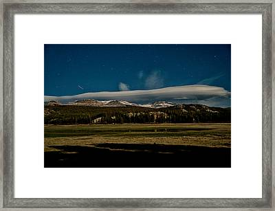 2 A.m. In Tuolumne Meadows Framed Print by Cat Connor