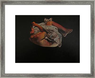 Framed Print featuring the painting 2 Am by Thu Nguyen