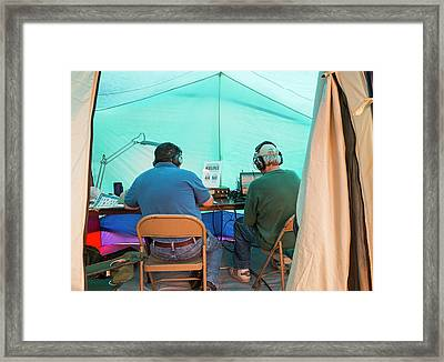 Amateur Radio Operators Framed Print by Jim West