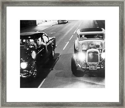 American Graffiti  Framed Print