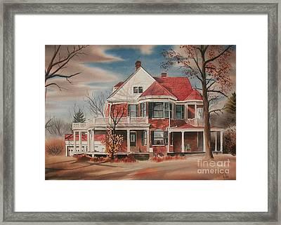 American Home IIi Framed Print