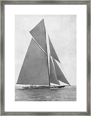 America's Cup, 1920 Framed Print by Granger