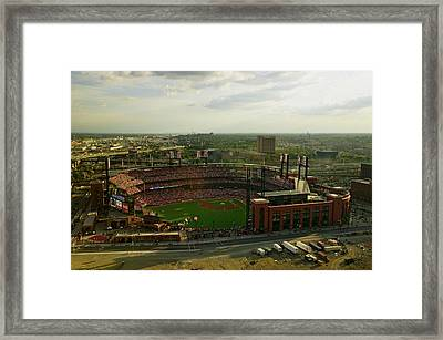 An Elevated View Of The Third Busch Framed Print