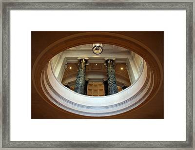 Framed Print featuring the photograph An Oculus by Cora Wandel