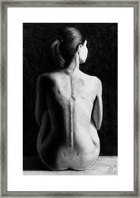 Ana In Waiting  Framed Print by Joseph Ogle