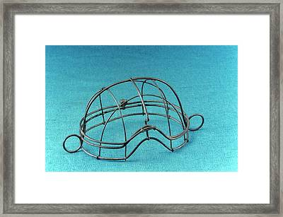 Anaesthesia Mask Framed Print
