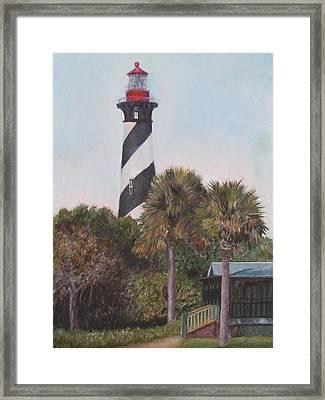 Anastasia Lighthouse Framed Print