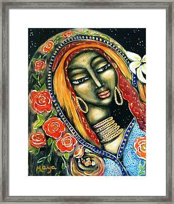 Ancient Mother Framed Print