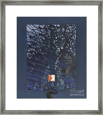 And Then There Was Cain Framed Print