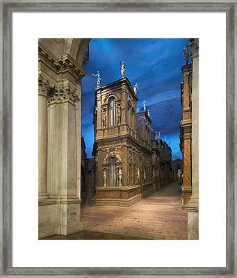 Andrea Di Pietro Della Gondola Known Framed Print