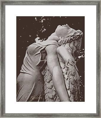 Angel Ascending Framed Print by Cheri Randolph