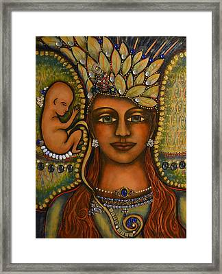 Angel Baby Framed Print by Marie Howell Gallery