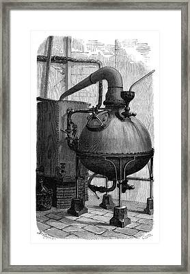 Aniline Dyeing Industry Framed Print by Science Photo Library
