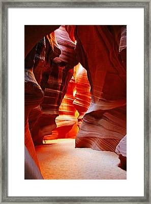 Antelope Canyon  Framed Print