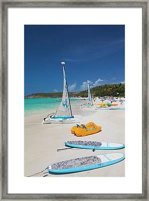 Antigua And Barbuda, Antigua, Dickenson Framed Print