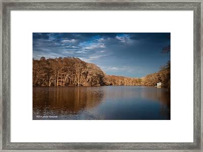 Apalachicola River  Framed Print by Debra Forand