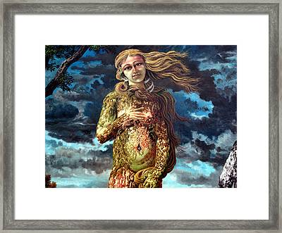 Aphrodite-venus Framed Print by Genio GgXpress