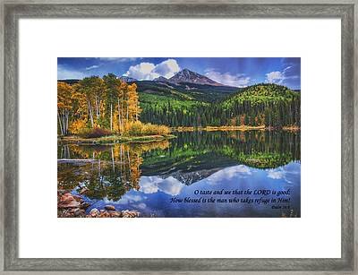 Approaching Storm  Framed Print by Priscilla Burgers