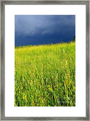 Approaching Storm Framed Print by Thomas R Fletcher