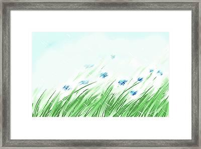 April Shower Framed Print
