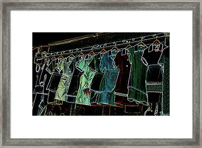 All A Glow Framed Print by Dave Byrne