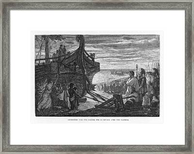 Archimedes, Greek Mathematician Framed Print by Mary Evans Picture Library