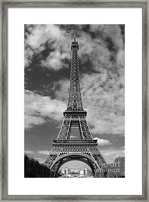 Architectural Standout Bw Framed Print by Ann Horn