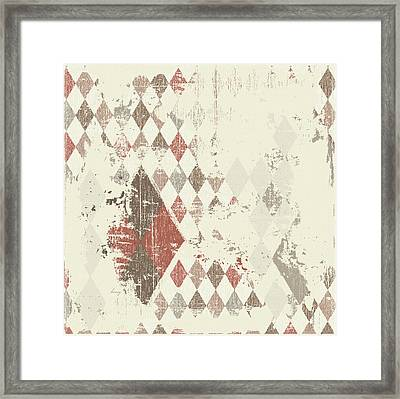 Argyle Explosion Framed Print by Brenny Moore
