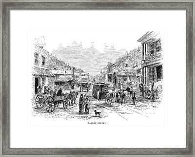 Arkansas Hot Springs Framed Print by Granger