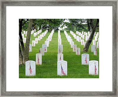 Arlington Framed Print by JC Findley