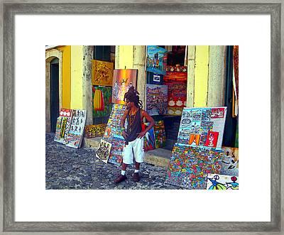 Art For Sale Framed Print by Julie Palencia