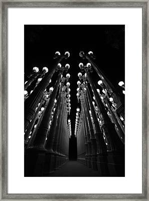 Urban Lights    Framed Print by Art K