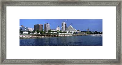 Art Museum At The Waterfront, Milwaukee Framed Print