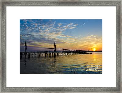 Magical Blue Skies Framed Print by Dale Powell