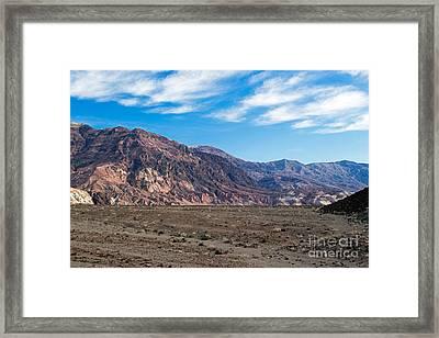 Artist Drive Death Valley National Park Framed Print
