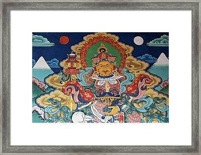 Asia, Bhutan, Punakha Framed Print
