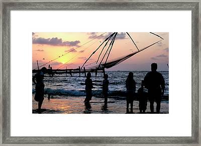 Asia, India, Kerala, Kochi (cochin Framed Print by Steve Roxbury